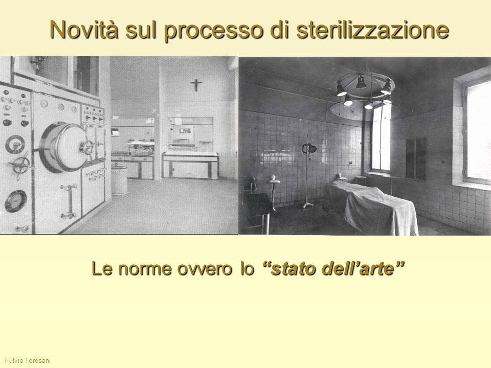 Novità sul processo di sterilizzazione