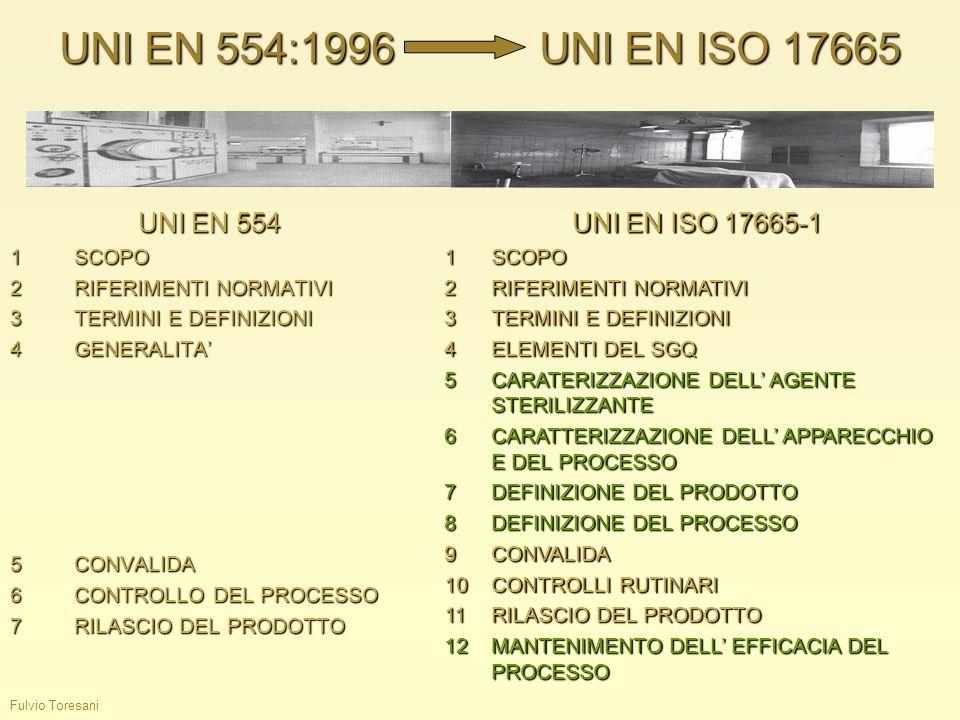 UNI EN 554:1996 UNI EN ISO 17665 UNI EN 554 UNI EN ISO 17665-1 1 SCOPO