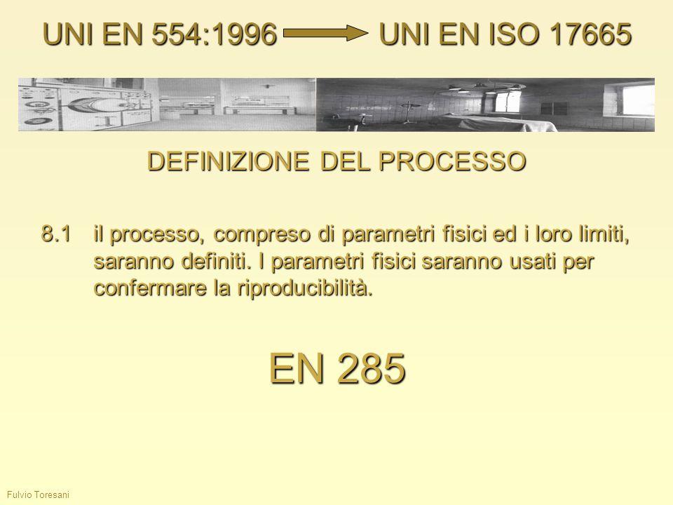 DEFINIZIONE DEL PROCESSO