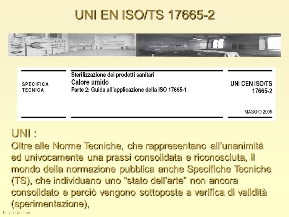 UNI EN ISO/TS 17665-2UNI :
