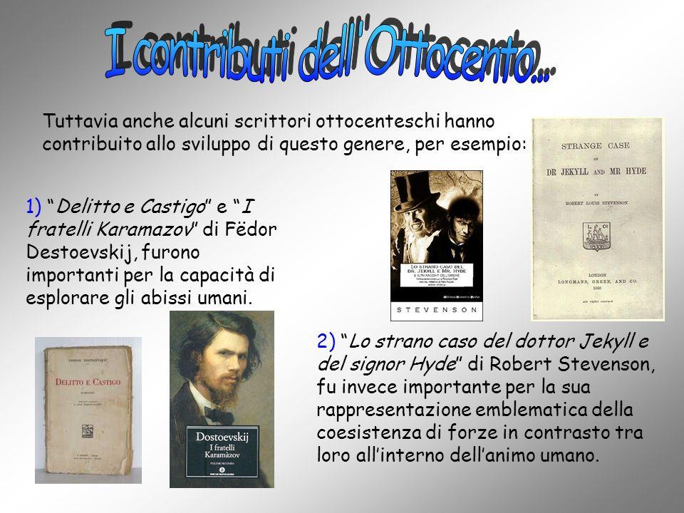 I contributi dell Ottocento...
