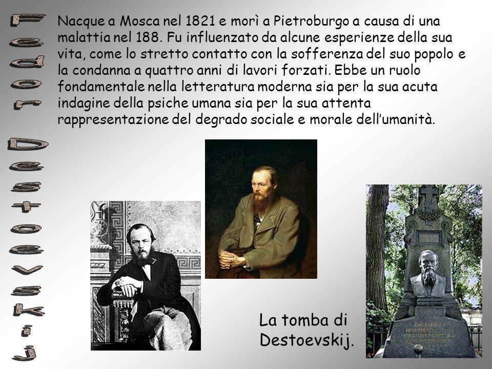 Fedor Destoevskij La tomba di Destoevskij.