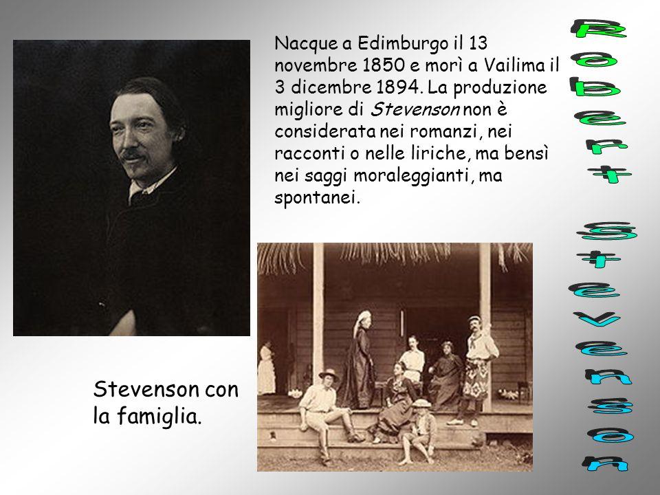 Robert Stevenson Stevenson con la famiglia.