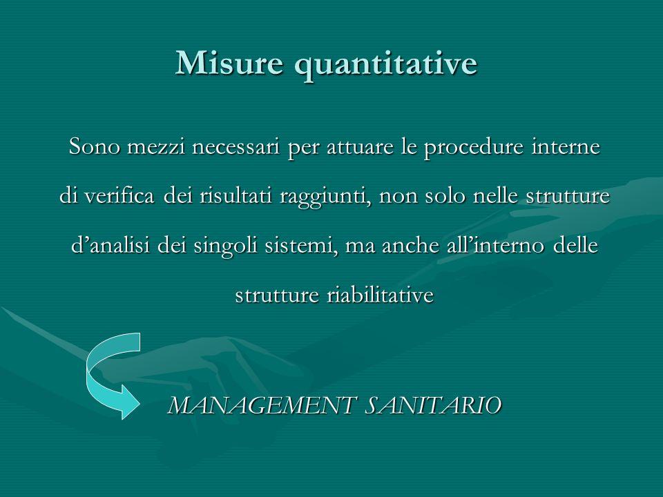 Misure quantitative