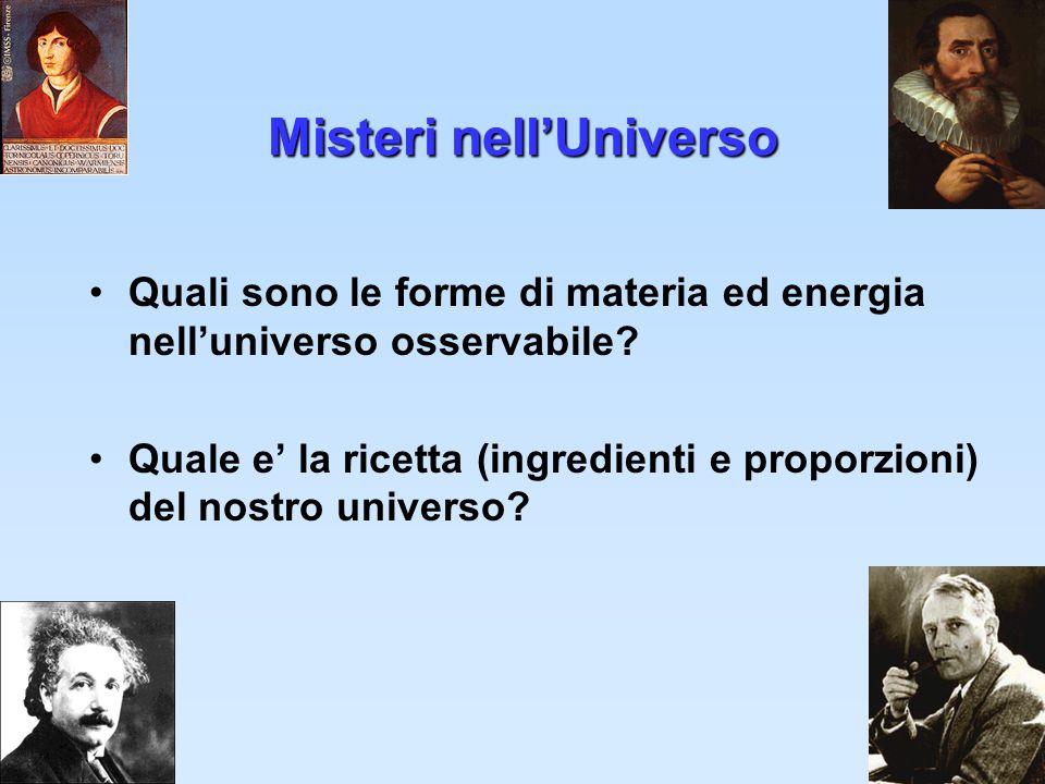 Misteri nell'Universo