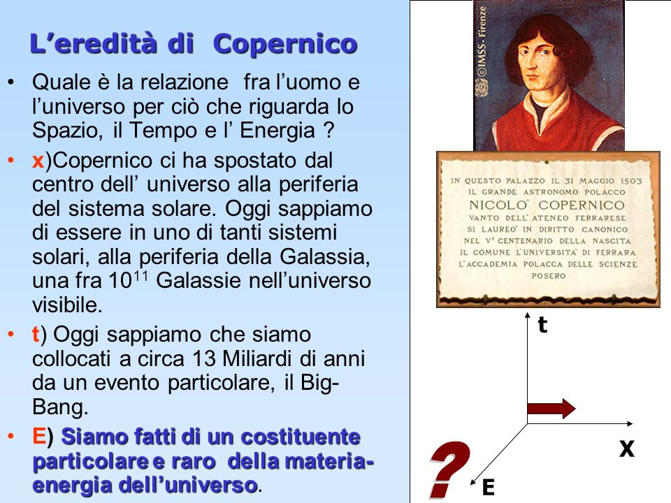L'eredità di Copernico