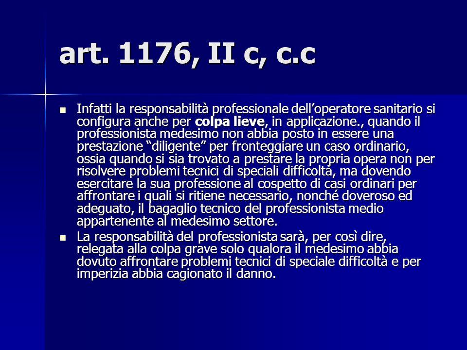 art. 1176, II c, c.c