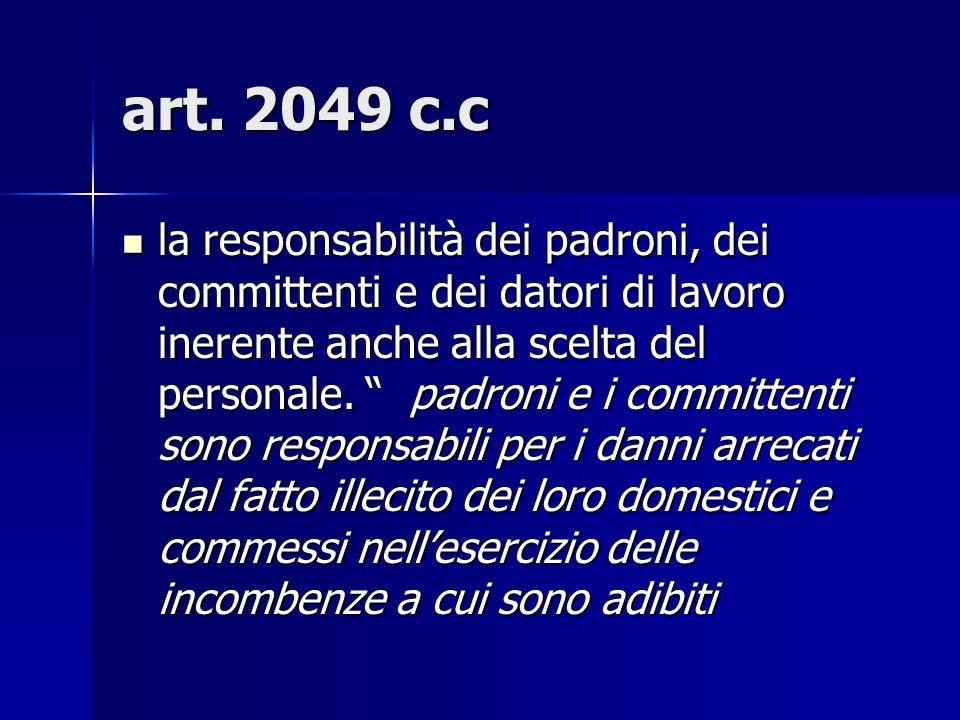 art. 2049 c.c