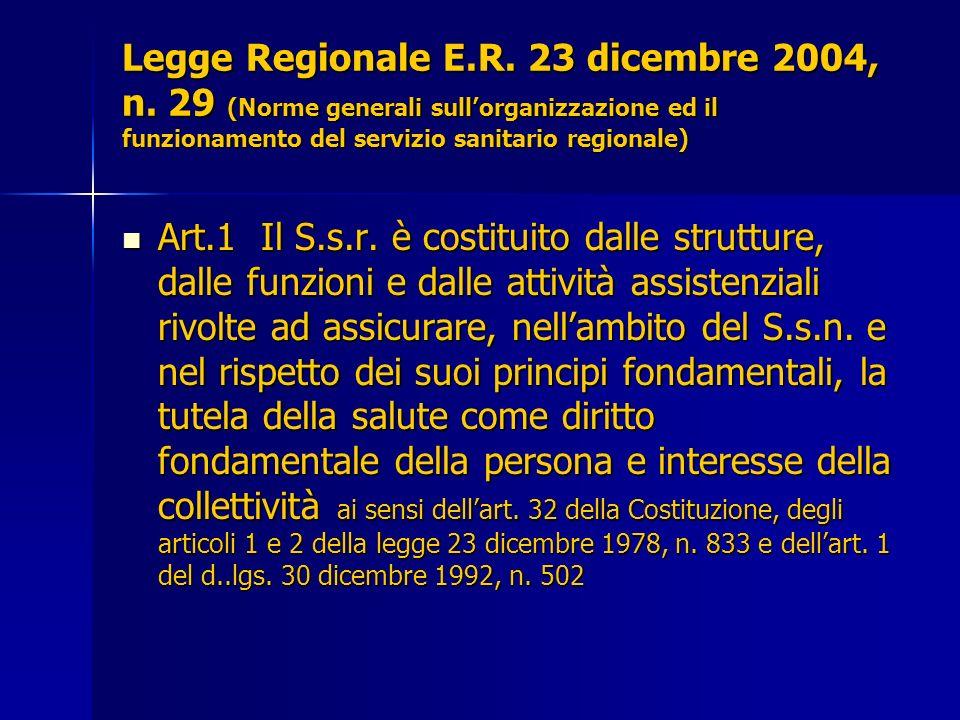 Legge Regionale E. R. 23 dicembre 2004, n