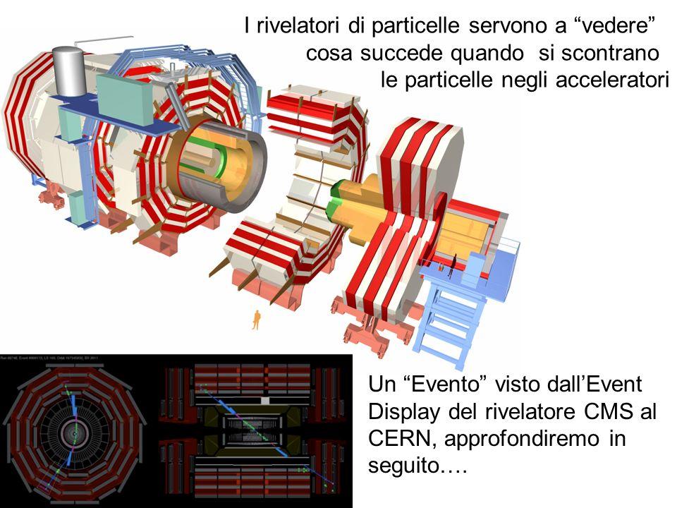 I rivelatori di particelle servono a vedere cosa succede quando si scontrano le particelle negli acceleratori