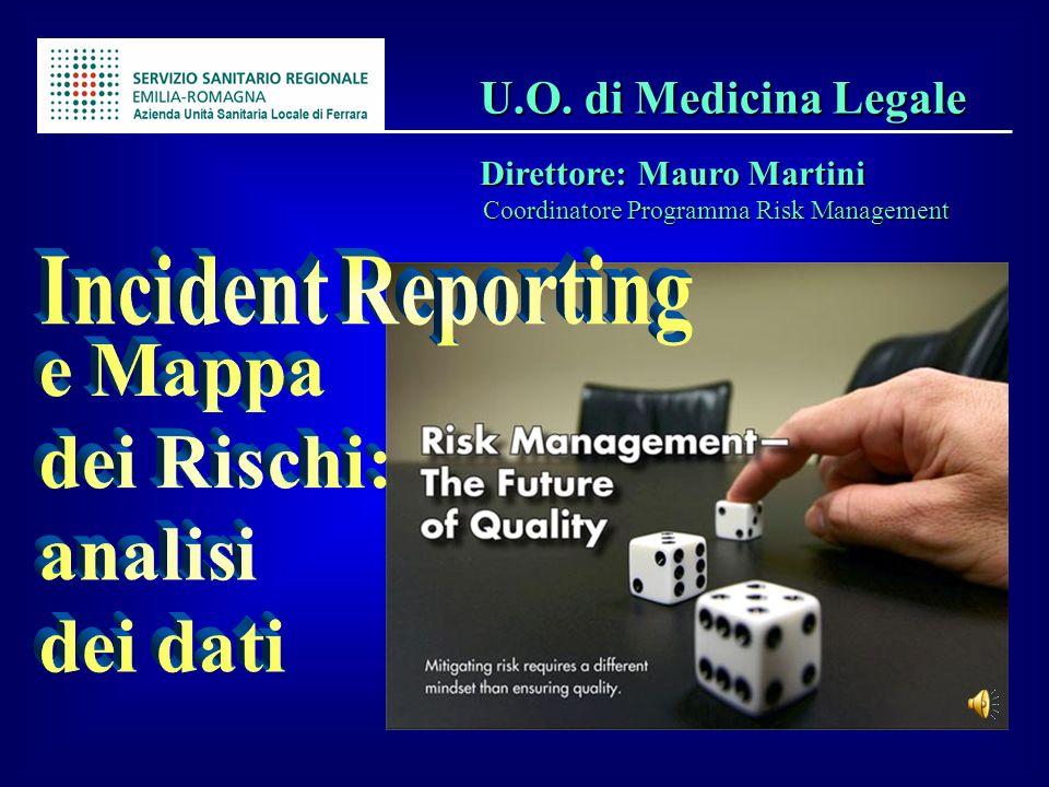 U.O. di Medicina Legale Direttore: Mauro Martini Incident Reporting