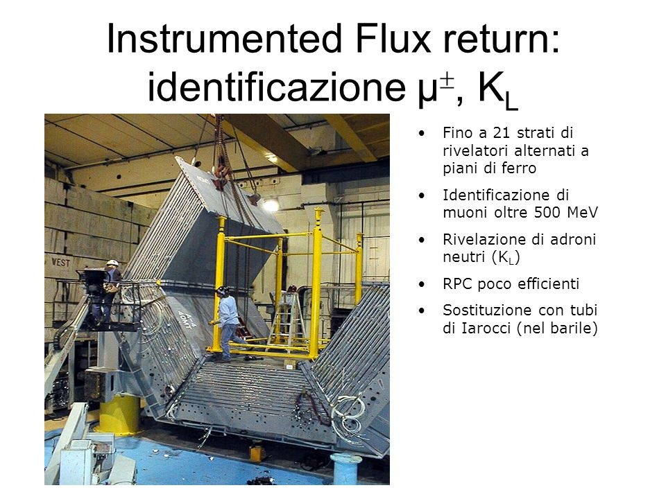 Instrumented Flux return: identificazione μ, KL