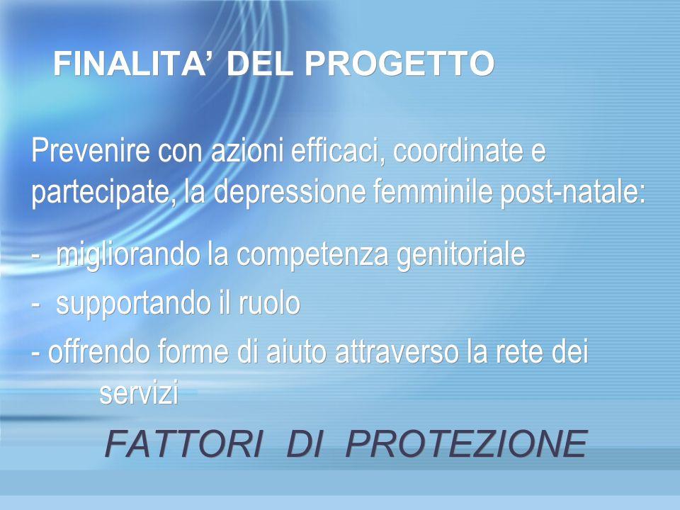 FINALITA' DEL PROGETTO