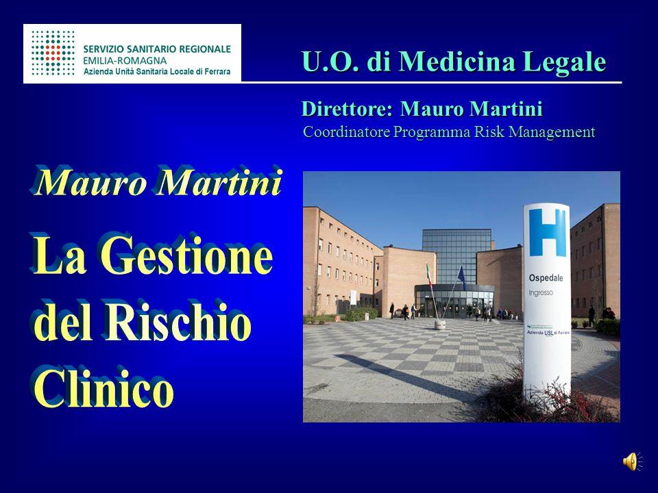 Mauro Martini La Gestione del Rischio Clinico U.O. di Medicina Legale