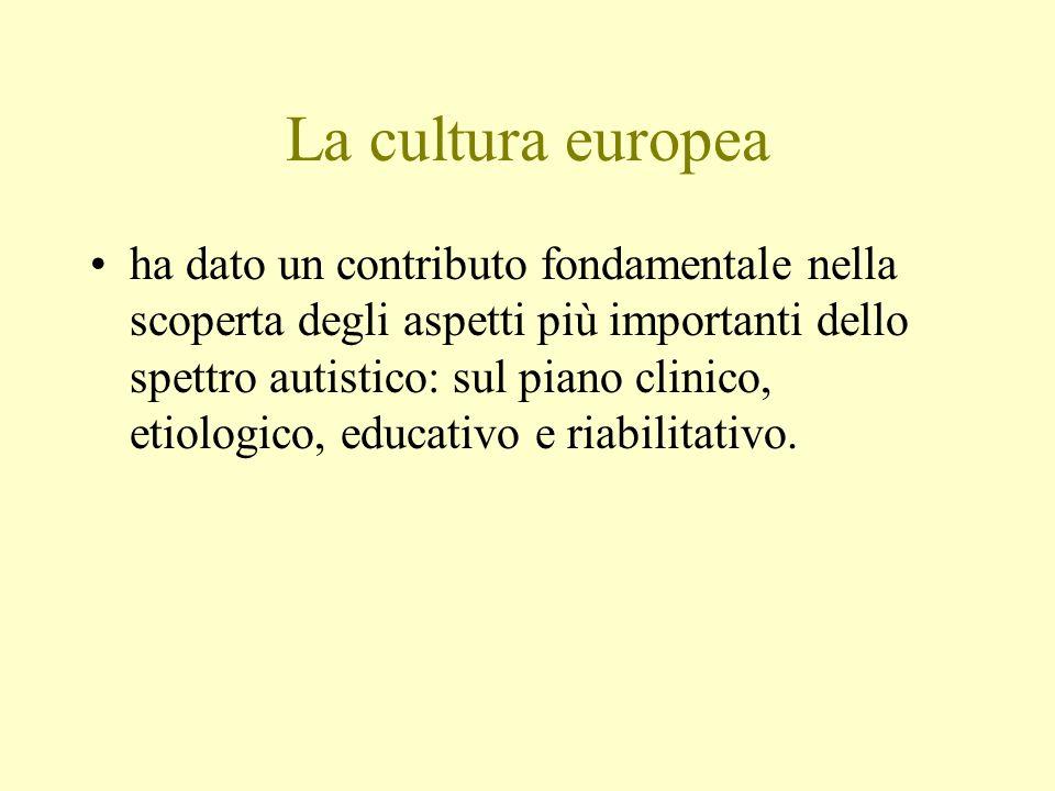 La cultura europea