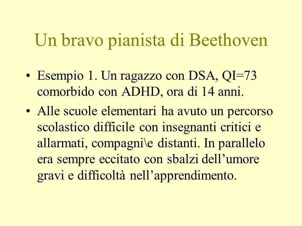 Un bravo pianista di Beethoven