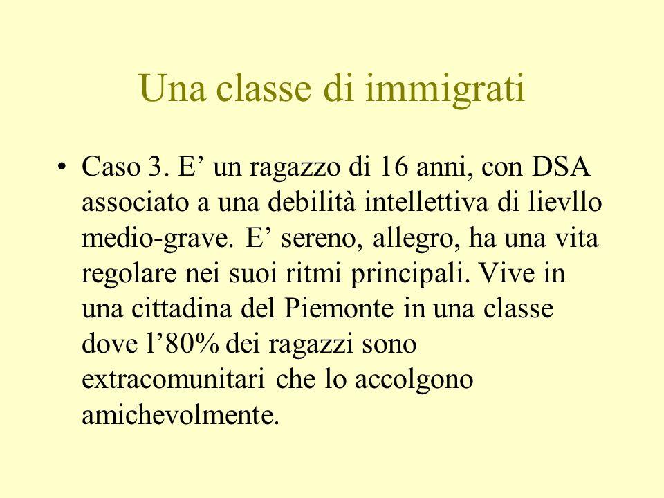 Una classe di immigrati