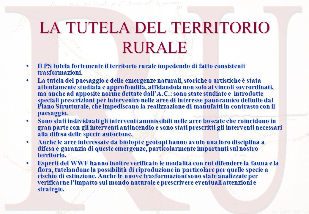LA TUTELA DEL TERRITORIO RURALE