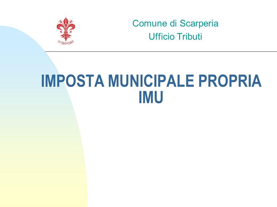 IMPOSTA MUNICIPALE PROPRIA IMU