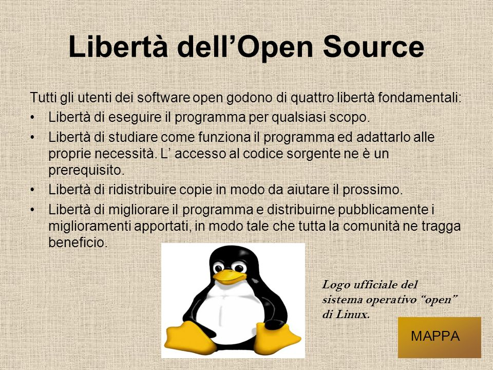 Libertà dell'Open Source