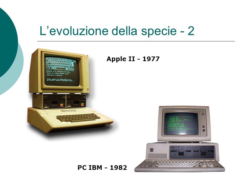 L'evoluzione della specie - 2