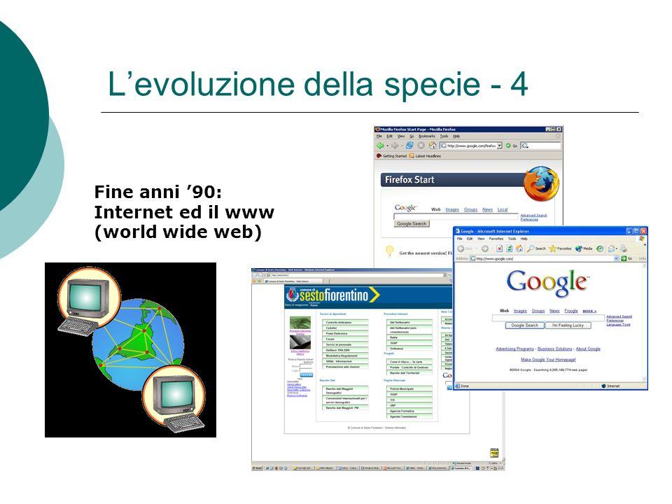 L'evoluzione della specie - 4