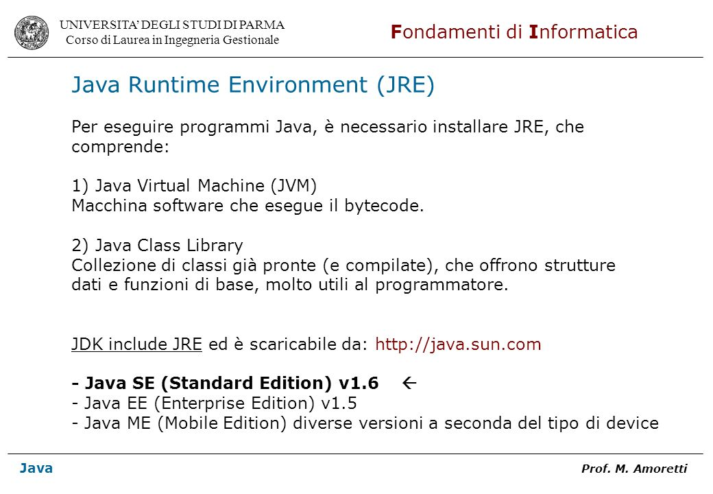 Java Runtime Environment (JRE)