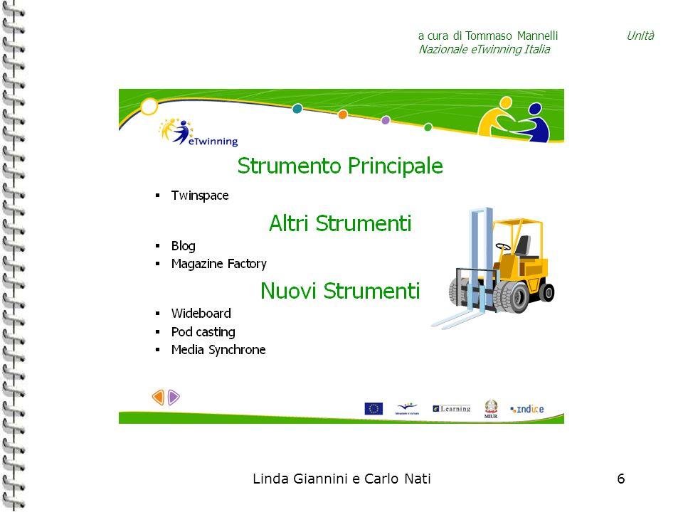 Linda Giannini e Carlo Nati