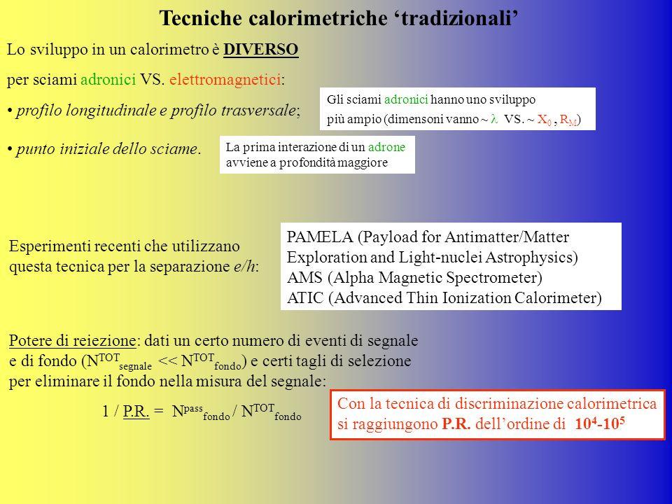 Tecniche calorimetriche 'tradizionali'