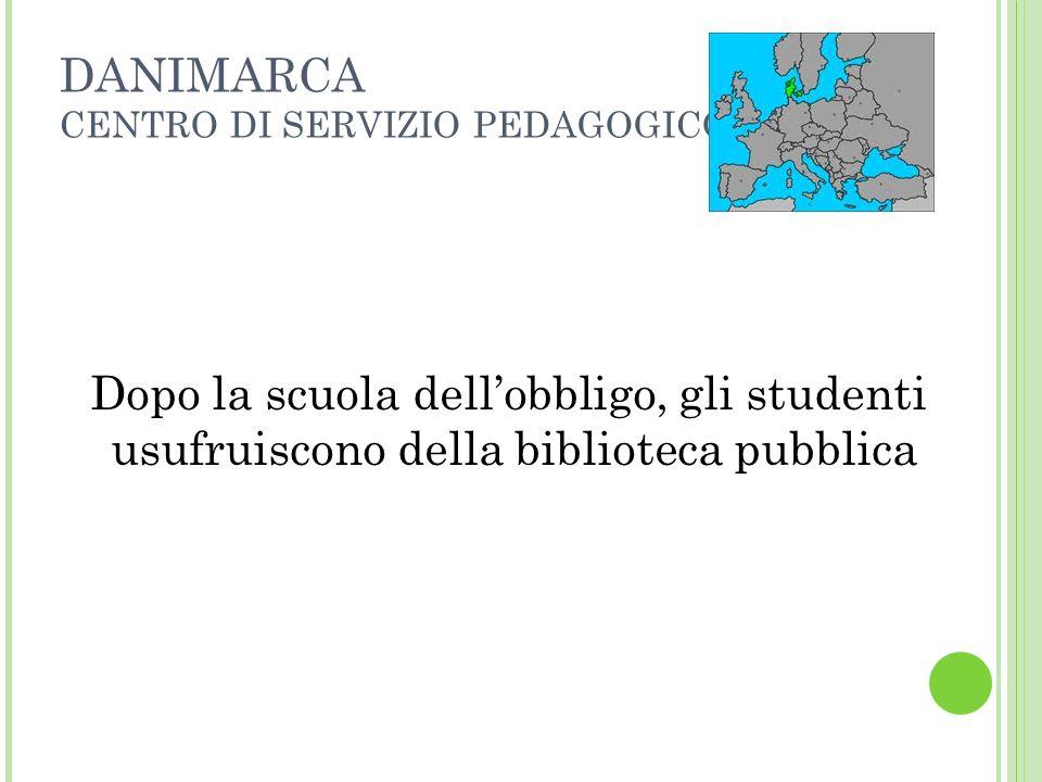 DANIMARCA CENTRO DI SERVIZIO PEDAGOGICO