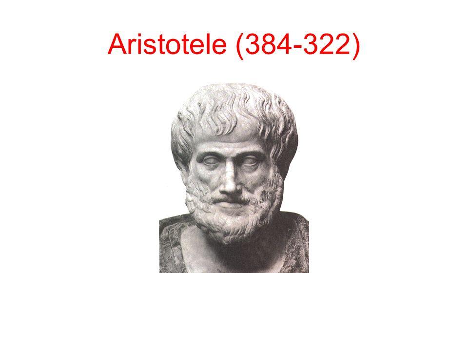Aristotele (384-322)