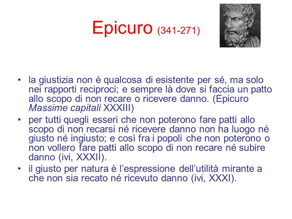 Epicuro (341-271)