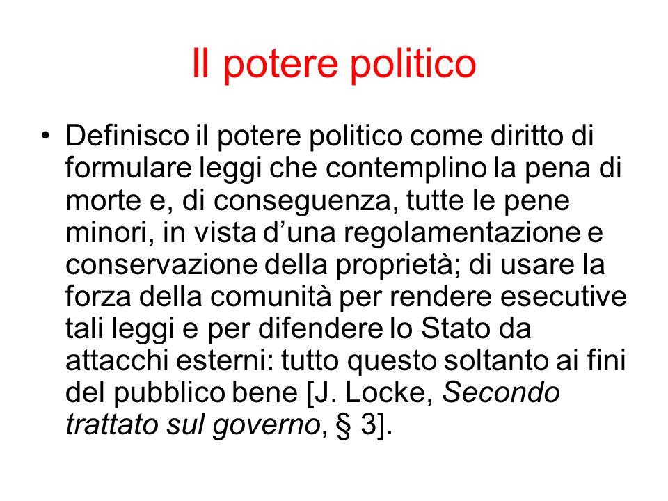 Il potere politico