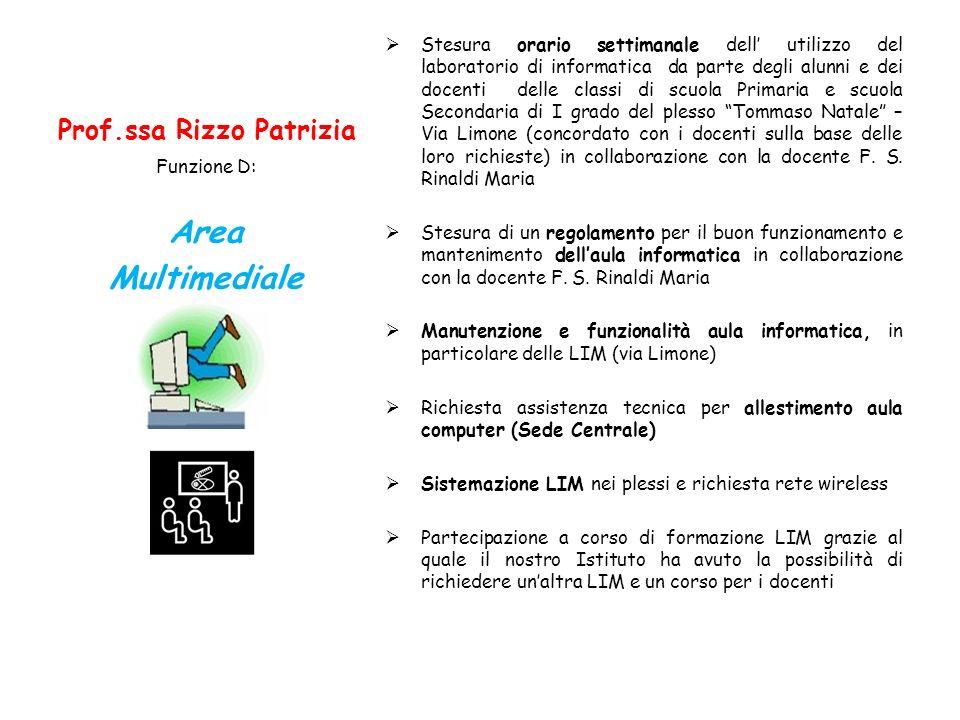 Prof.ssa Rizzo Patrizia