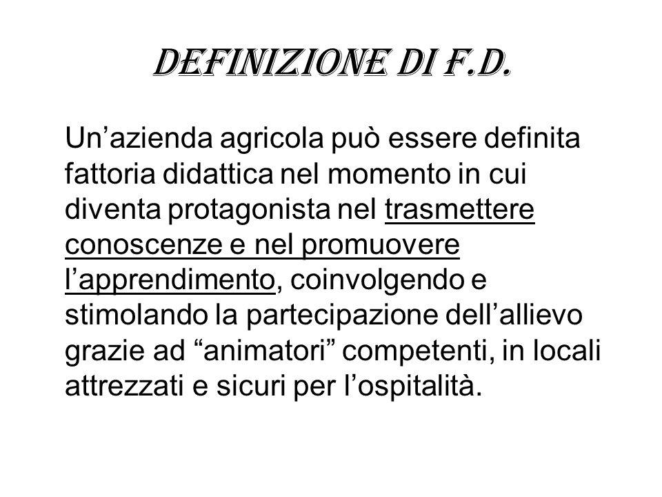 Definizione di f.d.