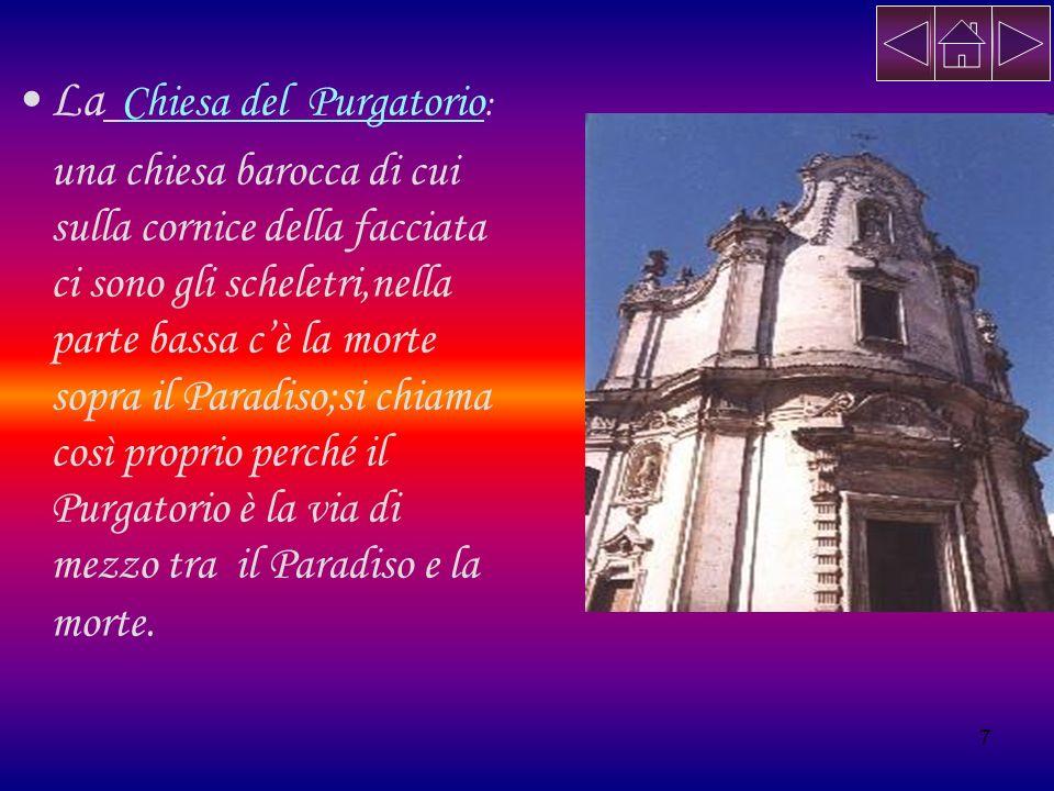 La Chiesa del Purgatorio: