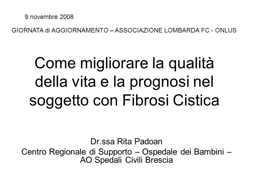 9 novembre 2008 GIORNATA di AGGIORNAMENTO – ASSOCIAZIONE LOMBARDA FC - ONLUS.