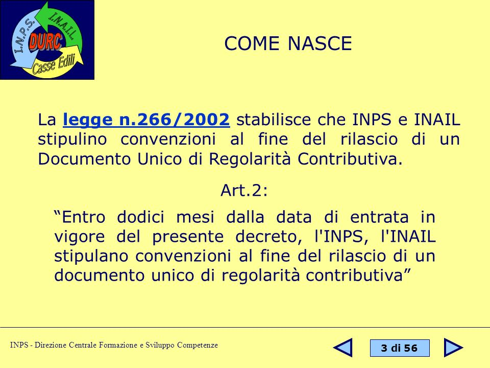 COME NASCE
