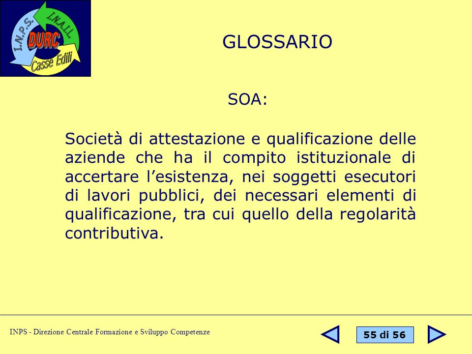 GLOSSARIO SOA: