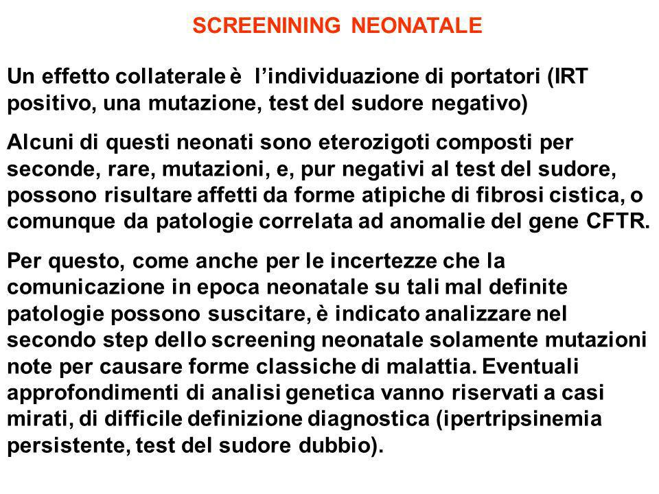 SCREENINING NEONATALE