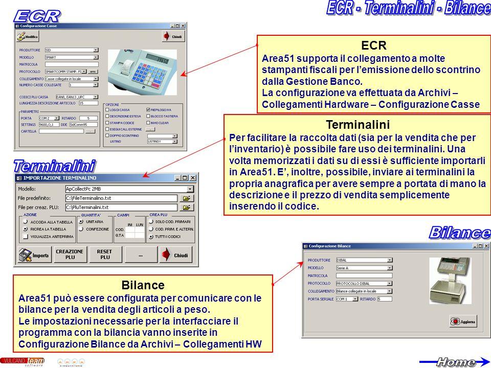 ECR - Terminalini - Bilance
