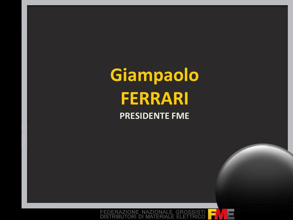 Giampaolo FERRARI PRESIDENTE FME