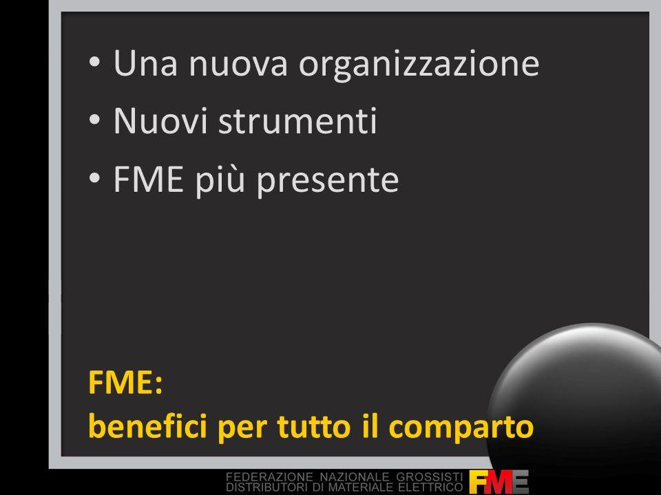 FME: benefici per tutto il comparto