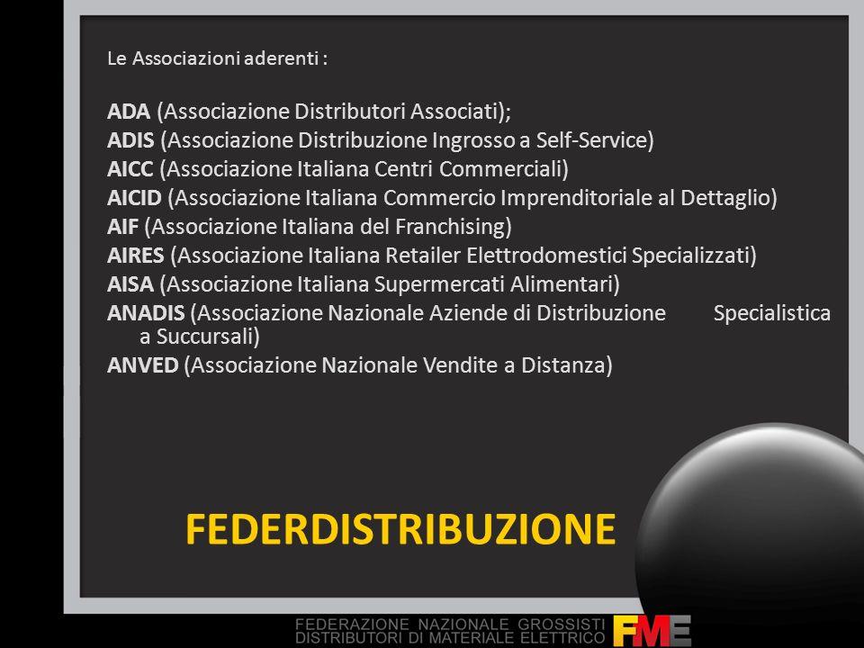 FEDERDISTRIBUZIONE ADA (Associazione Distributori Associati);