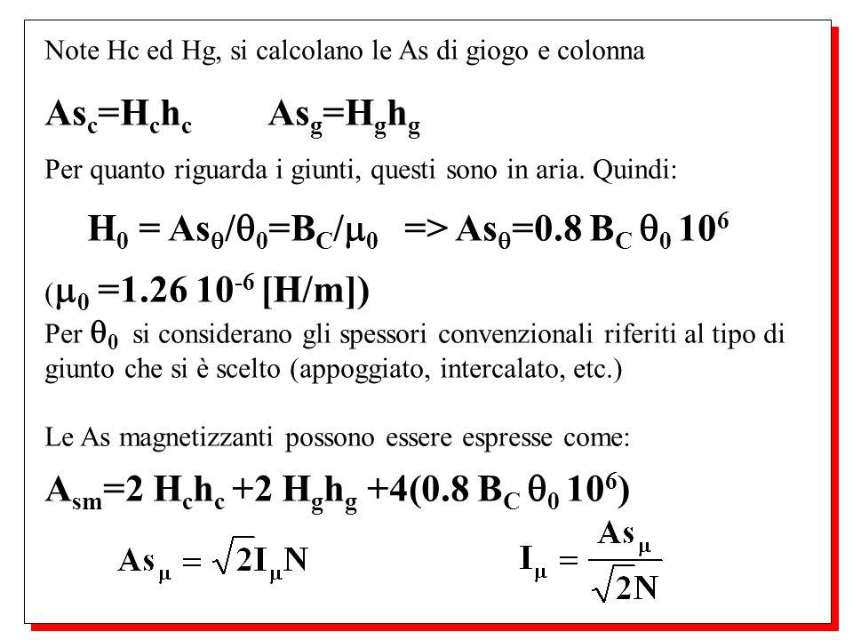 H0 = As/0=BC/0 => As=0.8 BC 0 106