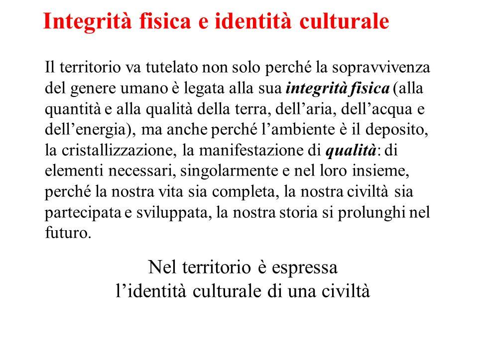 Integrità fisica e identità culturale