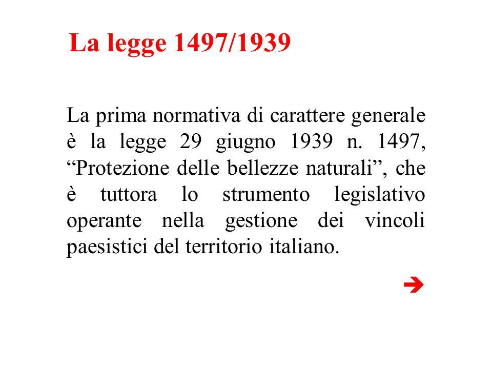 La legge 1497/1939