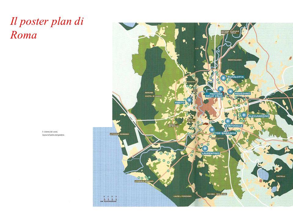 Il poster plan di Roma