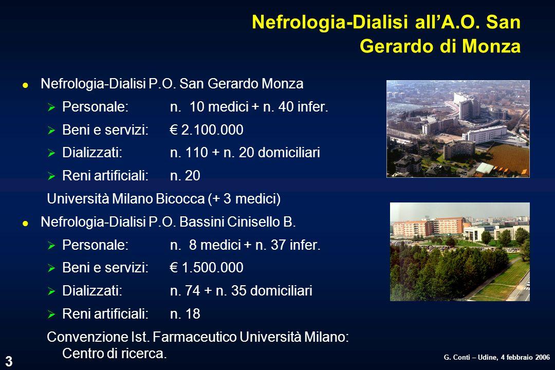 Nefrologia-Dialisi all'A.O. San Gerardo di Monza