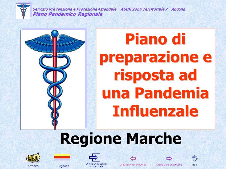 Piano di preparazione e risposta ad una Pandemia Influenzale